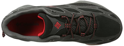 Columbia Conspiracy Iv Outdry - Zapatillas de senderismo Hombre Negro (Black/ Bright Red)