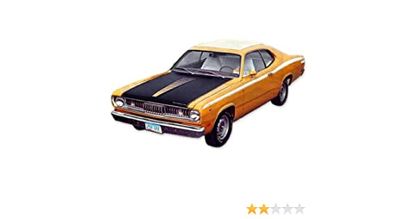 1971 1972 Plymouth Duster TWISTER Hood /& Cowl Ladder Stripes Kit