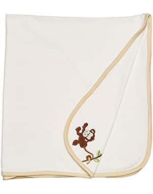 Baby Boys Tag Along Blanket One Size (Cream)