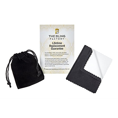 Microfiber Jewelry Polishing Cloth The Bling Factory 4mm Rhodium Plated Flat Figaro Link Chain