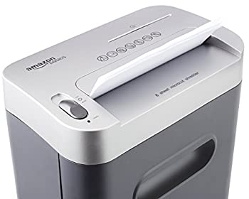Amazonbasics 8-sheet High-security Micro-cut Paper, Cd, & Credit Card Shredder With Pullout Basket 3