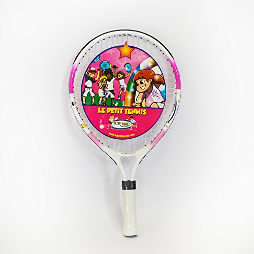 Le Petit Tennis Racquet 17 Inches PINK color – (Ages 2-3-4)
