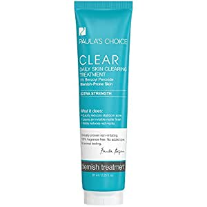 Paula's Choice CLEAR Extra Strength Daily Skin Clearing Treatment with 5% Benzoyl Peroxide for Severe Acne - 2.25 oz
