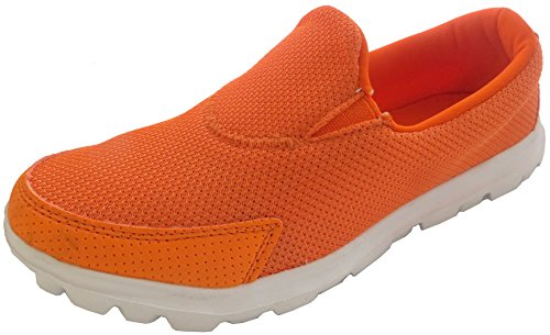 Sport Trainers Shoes Women's Gym Fit Athletic Orange Dek Shoes Sport Walk Go Get Walking 0fXaPqa