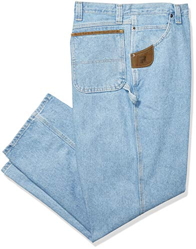 Riggs Workwear By Wrangler Men's Carpenter Jean,Vintage Indigo,35x32