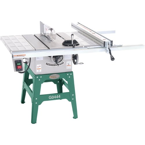 grizzly g0444 10 table saw 1 1 2 hp single phase 110v b0000e3hnn rh camelcamelcamel com