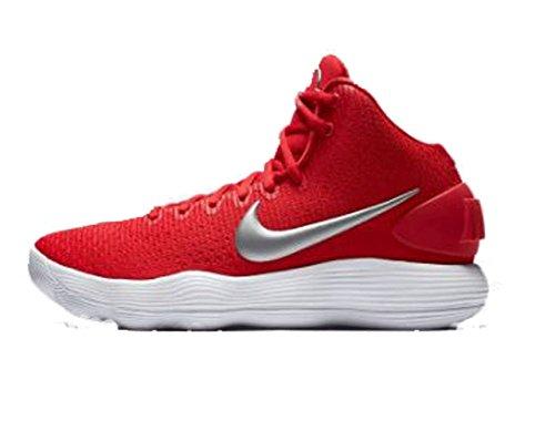 Nike Mens Hyperdunk 2017 Rosso Taglia Media 12,5