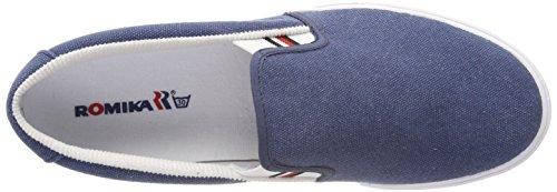 Romika Unisex-voksne Laser Espadriller Blå (jeans) 4vFwspOy6
