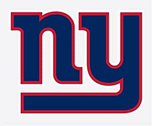 new york giants 4 football vinyl decal car truck stickers nfl decals bumper stickers. Black Bedroom Furniture Sets. Home Design Ideas