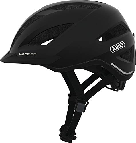 Abus City Touren E-Bike Fahrradhelm PEDELEC 1.1 schwarz Edition 56-62 cm