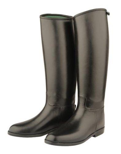 Dublin Bottes Large Universal Equitation Tall Mollet Boots Noir Standard tqqpwzr