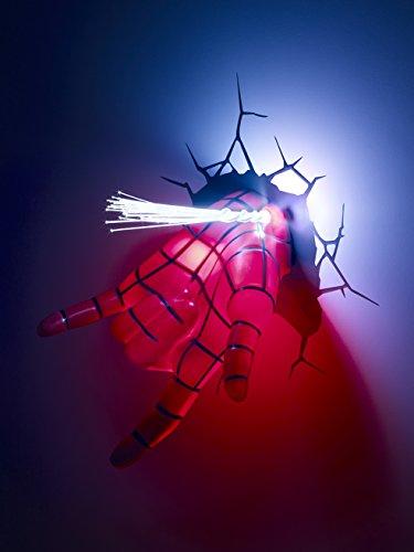 Marvel Ultimate Spiderman Spidey Hand 3d Light