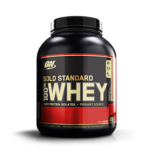 OPTIMUM NUTRITION Gold Standard 100% Whey Protein Powder, Chocolate Peanut Butter, 3.3 Pound (Best Budget Whey Protein)