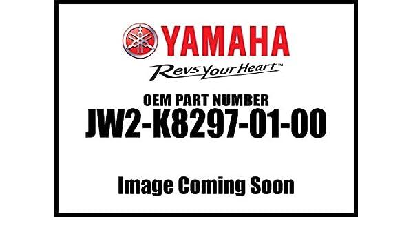 Caution 1; JW2K82970100 Made by Yamaha Yamaha JW2-K8297-01-00 Plate