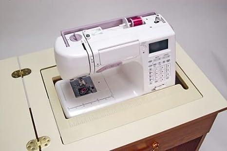 Mueble para máquina de coser- Sewnatra en Negro: Amazon.es: Hogar