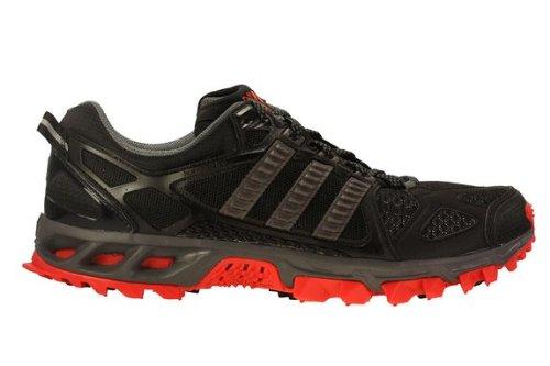 Galeone Adidas Kanadia Tr 6 Tracce Scarpa Shagrey Da Corsa, Nero / Shagrey Scarpa ef0947