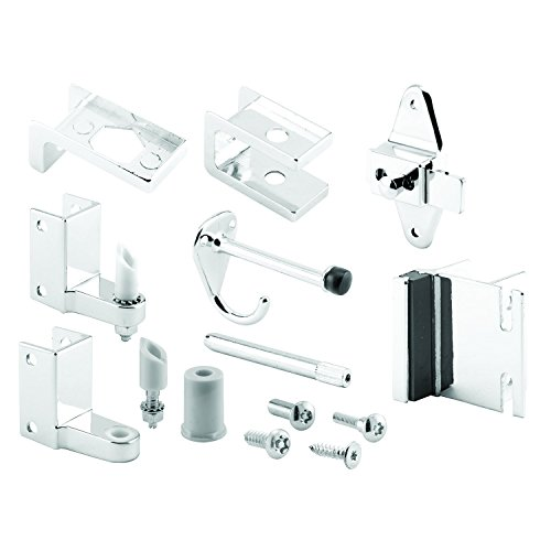 Sentry Supply 656-3079 Door Kit, 1 in. Door & 1 in. Pilaster, Zamak, Chrome Plated, Inswing, Pack of 1 Kit ()