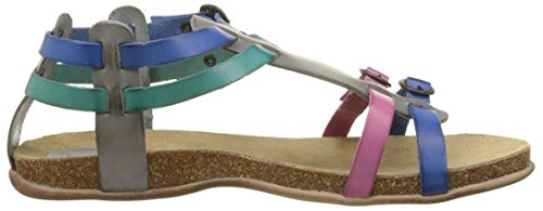 Closed Heels Toe Kickers Ana Gris Multico Women's Bleu Gris HZqqnEw1I