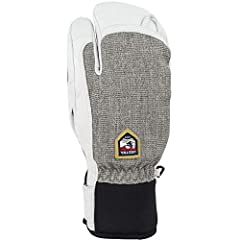 Warm and durable 3-finger glove made from proofed Army Goat Leather. Removable polyester liner with G-loft insulation, making the liner easy to take out to dry or wash. Backhand in durable, polyester melange stretch fabric and neoprene cuff a...