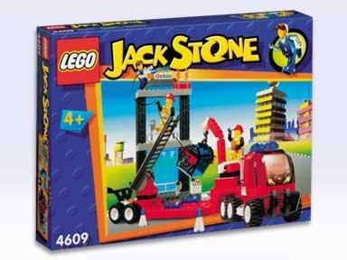 LEGO Jack Stone 4609 Fire Attack Team