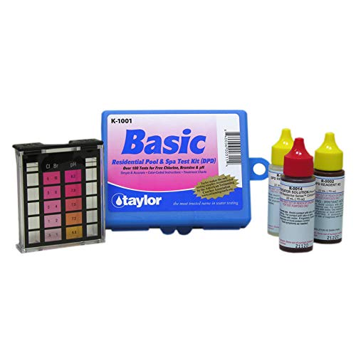 Taylor K1001 Basic Residential DPD Pool or Spa Test - Taylor Kit Spa Test