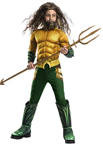Rubie's Boys Aquaman Movie Child's Deluxe Costume,