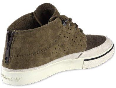 Adidas Vulc Mid KZK scarpe, Burton Marrone