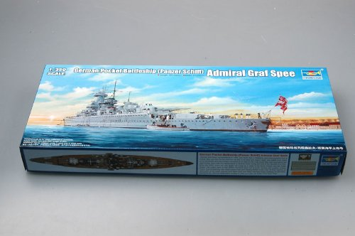 (Trumpeter 1/350 Scale German Admiral GRAF Spee Pocket Battleship)