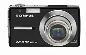 Olympus FE-350 8MP Digital Camera with 4x Wide Angle Optical Zoom (Black)