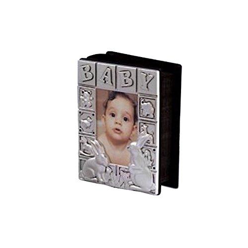 Baby Album 4x6 Satin - Photo Godinger Frame