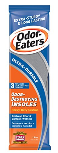 Odor Stoppers - Odor-Eaters Ultra Durable, Heavy Duty Cushioning Insoles, 1 pair