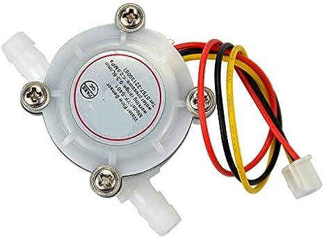 Nologo Módulo electronico Sensor de Flujo de Agua 0.3-6L / min DC3 ...