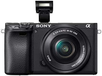 Sony Alpha a6400 Mirrorless Camera: Compact APS-C Interchangeable Lens Digital Camera with Real-Time Eye Auto Focus, 4K Video, Flip Screen & 16-50mm Lens – E Mount Compatible Cameras – ILCE-6400L/B 41TJ7SA6LsL