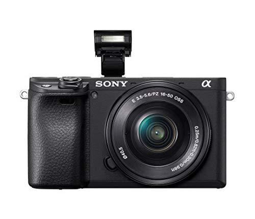 Sony Alpha Camera: Lens Real-Time Eye Auto 4K & 18-135mm Lens E - ILCE-6400M/B