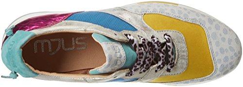 azzurro Multicolor 794109 Mujer Sabbia giallo acqu 0001 0101 Mjus fuxia para Zapatillas 0001 fossile YAvaxa