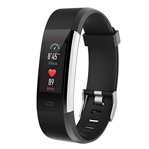Spitilo Fitness Tracker with Heart Rate Monitor,Waterproof+GPS Smart Watch ,Exercise for Women Men
