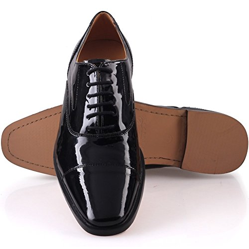 'Kive' Leather Office Up Mens Shoes Unze Laced Aw1xq50nI
