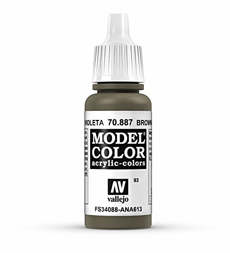 Vallejo Acrylic Paint, Brown - Brown Violet
