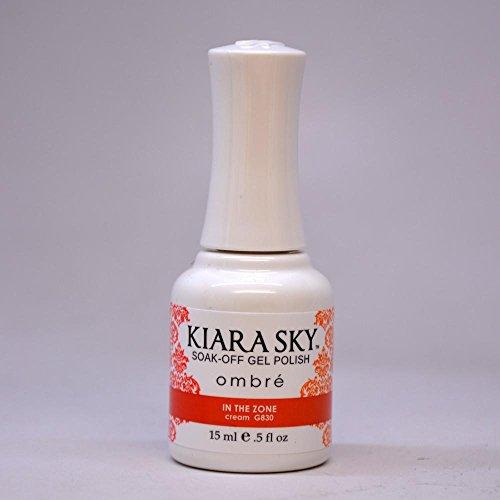 Kiara Sky Gel Polish  In The Zone Ombre  15 Gram