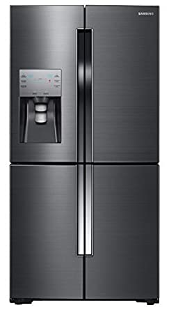 Samsung RF23J9011SG 36 Counter-Depth 4-Door Flex French Door Refrigerator (Black Stainless Steel)