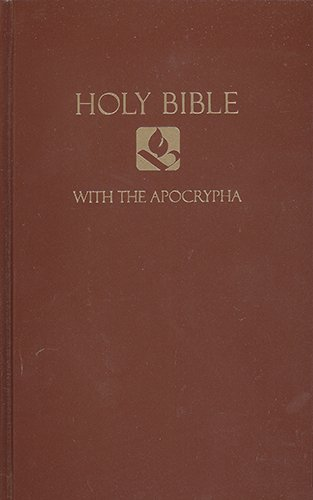 Download Holy Bible with the Apocrypha: New Revised Standard Version, Brown, Pew Bible pdf