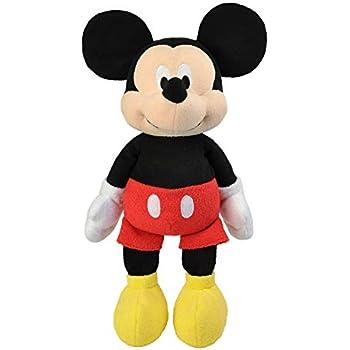 Amazon com: Mickey Mouse Plush - Medium - 17'': Toys & Games