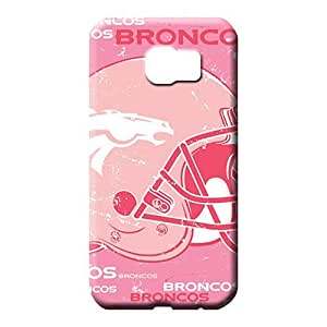 samsung galaxy s6 edge Extreme Style series mobile phone carrying skins denver broncos nfl football