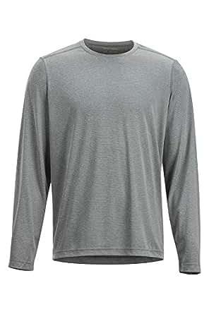 ExOfficio Men's BugsAway Tarka Long Sleeve, Grey Storm, Medium