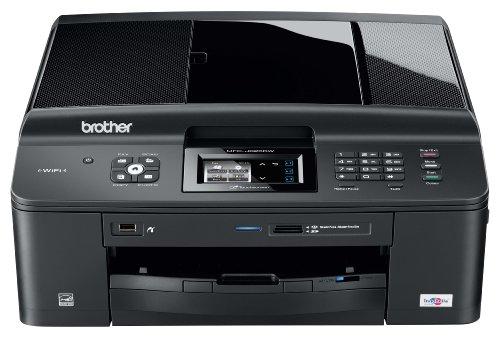 Brother BRTMFCJ625DW MFC-J625DW Wireless All-In-One Inkjet Printer, Copy/Fax/Print/Scan