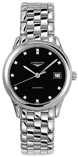 Longines Les Grandes Classiques Flagship Automatic Diamond Markers Transparent Case Back Men's Watch