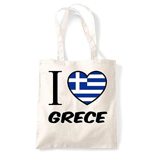 Gs la grece My Jaime Naturel Coton Creme Tote kase WPRPcq4v