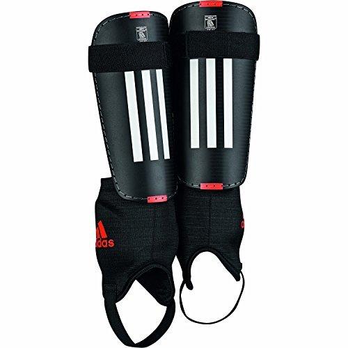 adidas 11 Club Schienbeinschoner, schwarz/weiß/solar rot, S, M38632