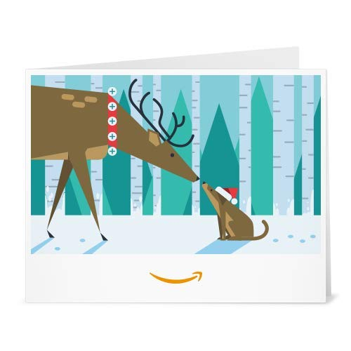 Amazon Gift Card - Print - Holiday Connection (To Print Happy Cards Christmas)