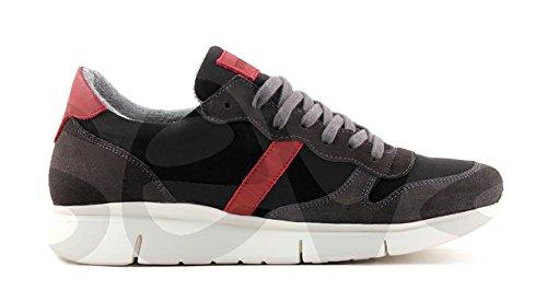 Be cool Chaussures Bateau pour Homme Noir 4BWL0R